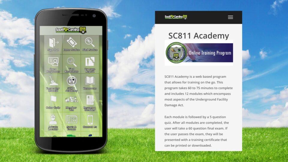 SC811 App Overview